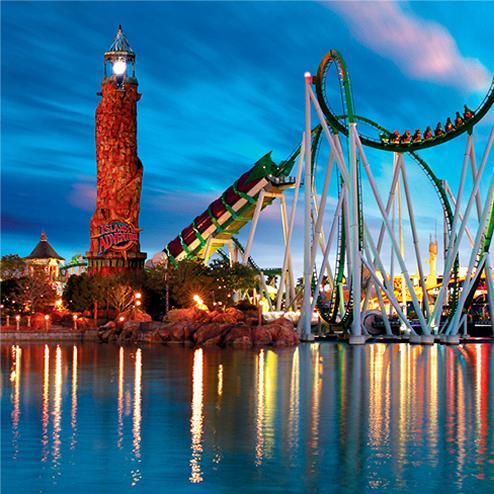Theme park responsive design