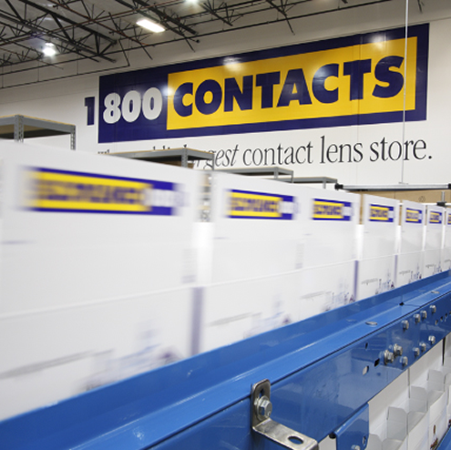 1800 Contacts responsive design